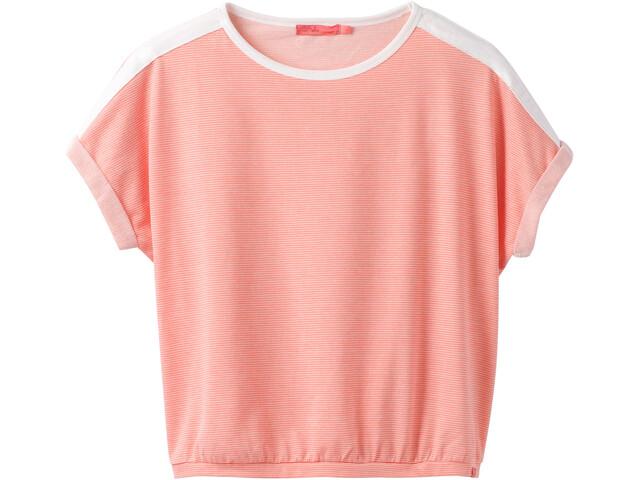 Prana Zosia - T-shirt manches courtes Femme - orange
